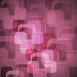 Abstract pink background with round rectangle
