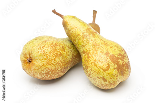 Photo Two whole, uncut abate fetel pears