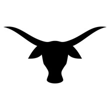 Buffalo Head. Bull Logo. Cow I...
