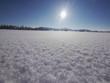 sun snow landscape winter