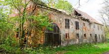 Bauernhof Als Alte Ruine