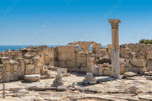Foto op Canvas Cyprus Limassol District. Ruins of ancient Kourion. Cyprus.