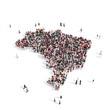people group shape map Brazil