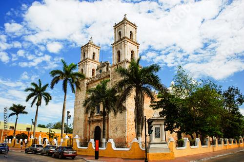 Valladolid, Mexico. Cathedral de San Servasio