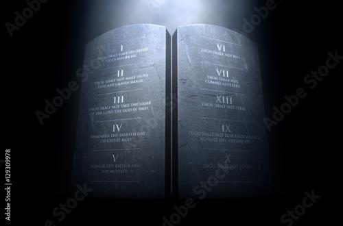 Photo  Ten Commandments