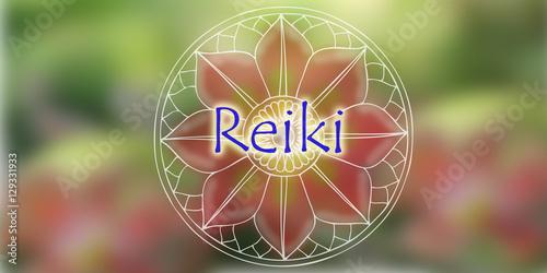 Photo  Natural background Reiki