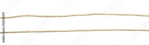 Fotografía  Set of white cotton ropes