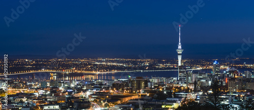 Photo Blue Hour from Mount Eden