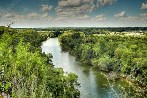 Poster Texas Brazos River,Waco texas