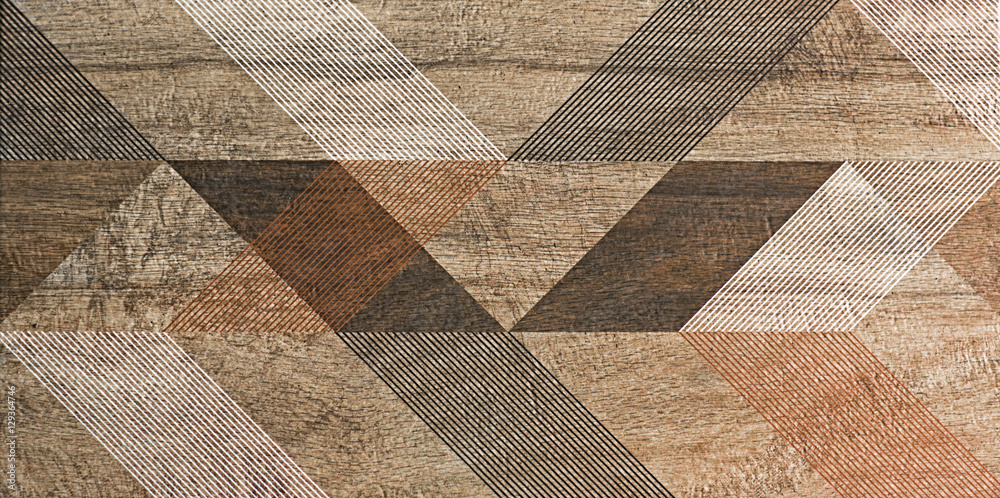 Fototapeta mosaic, tile, geometric shapes