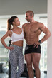 Portrait Of A Physically Fit Muscular Couple