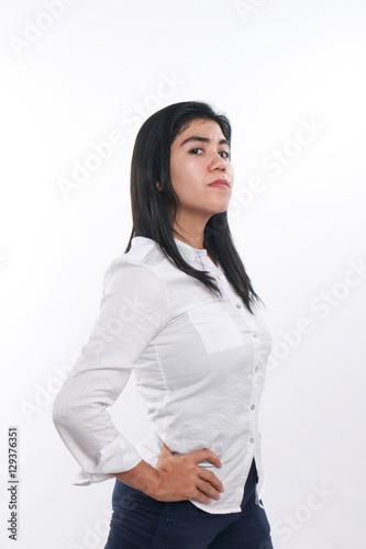 Strong asian women
