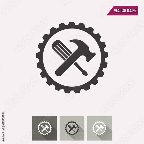 Fototapeta Tool - vector icon. obraz na płótnie