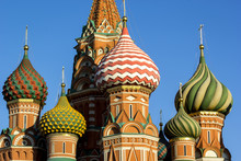 Onion Domes, Moscow, Russia