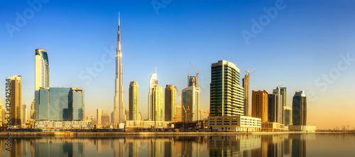 Fotografie, Obraz  Business bay of Dubai, UAE