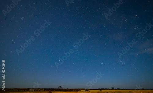 Deurstickers Nacht Night Sky, Hyden, Western Australia.