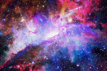 Fototapeta Galaxy and nebula. Elements of this Image Furnished by NASA
