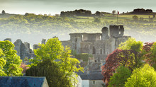 Misty Middleham Castle