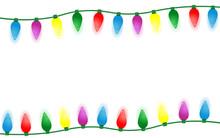 Colorful Christmas Lights Bord...
