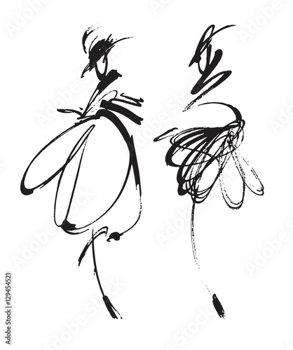 abstrakcyjne-modelki-w-czarno-bialych-barwach