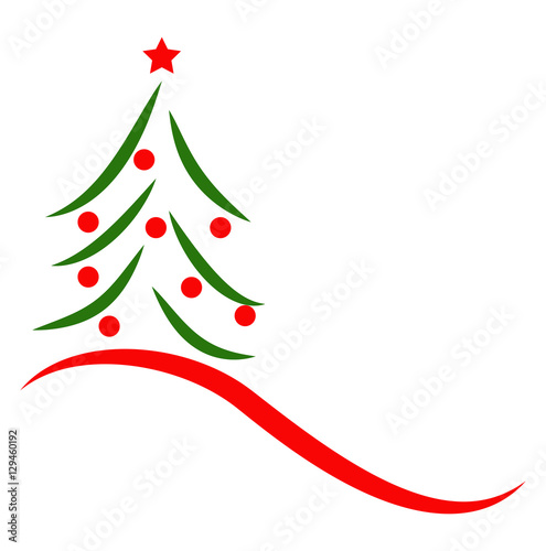 Albero Di Natale Stilizzato.Vector Illustration Of A Stylized Christmas Tree Albero Di Natale Stilizzato Vettoriale Buy This Stock Vector And Explore Similar Vectors At Adobe Stock Adobe Stock