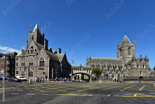 Stampa su Tela  Irland - Christ Church Cathedral in Dublin
