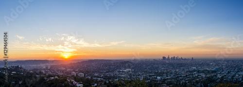 Obraz na dibondzie (fotoboard) LA Wakes