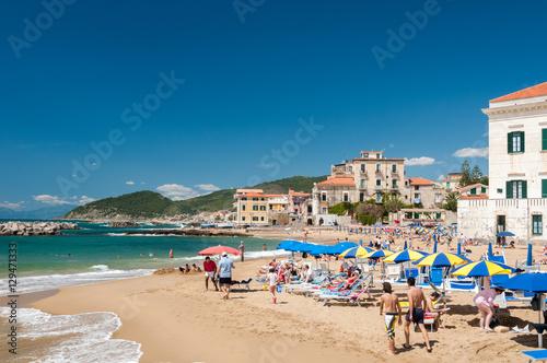 Strand von Santa Maria di Castellabate Canvas Print