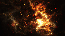 Abstract Background Of A Fire ...