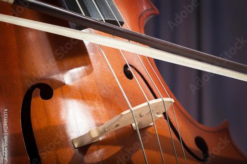 Zdjęcie XXL Wiolonczela. Muzyka klasyczna.