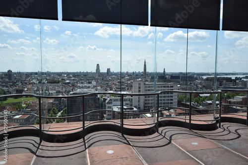 In de dag Antwerpen Ausblick auf Antwerpen