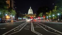 WASHINGTON DC, USA -  US Capitol Street View