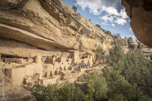 Fotografie, Obraz  Long House at Mesa Verde