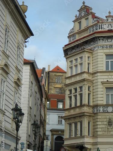 Foto op Canvas Artistiek mon. Old Streets of Prague