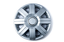 Plastic Hubcap Isolated On Whi...