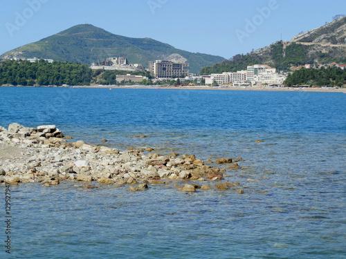 Garden Poster Napels Adriatic Sea in Montenegro