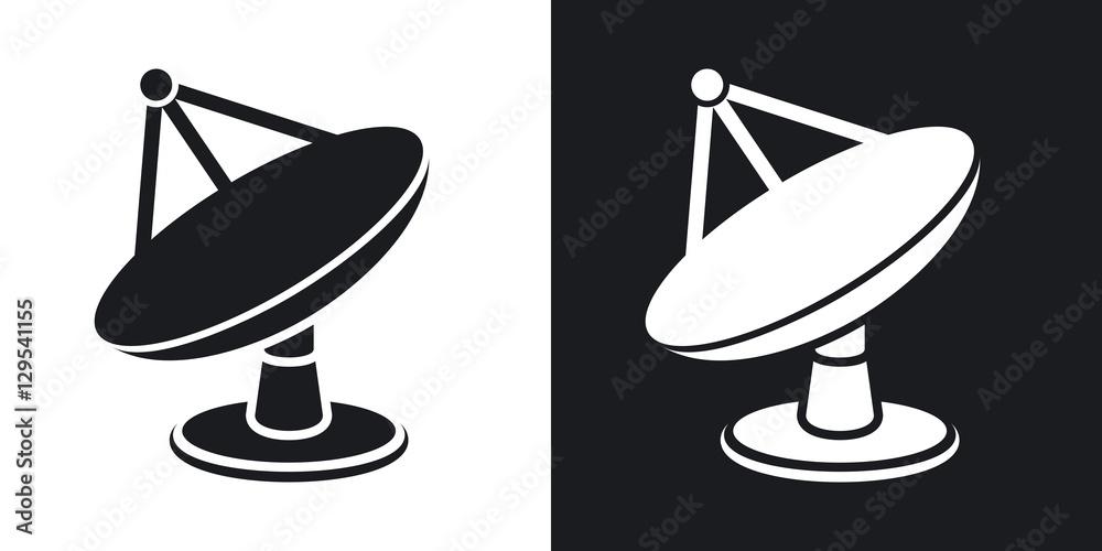 Fotografía  Vector satellite dish icon