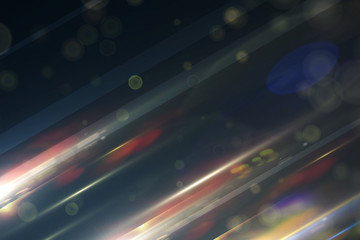 Stylish colorful background with particles and glow