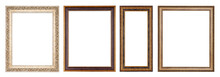 Simple Vintage Frame On A Whit...