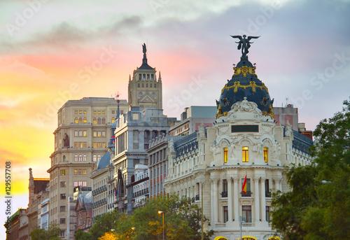 Fotografía  Madrid landmarks, Spain