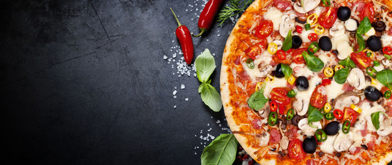 Fototapeta Do gastronomi pizza for you