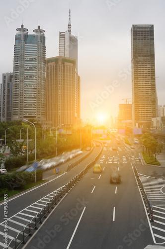 Photo  shanghai cityscape