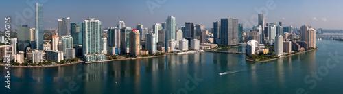 Downtown Miami Florida - Aerial Panotamic © steve