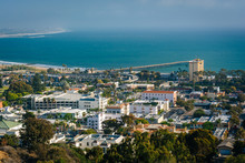 View Of Downtown Ventura And T...