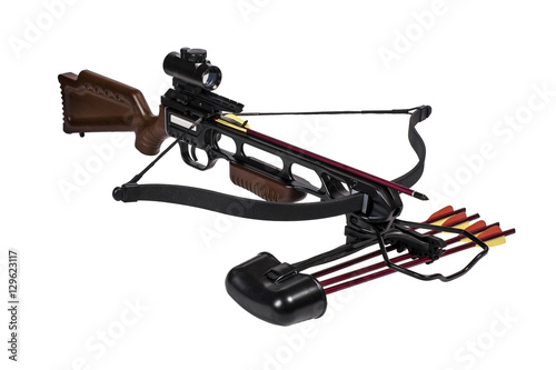 Photographie Crossbow iisolated on a white background