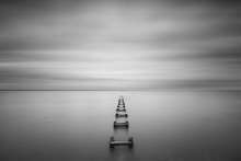 Long Exposure Seascape Of Some...