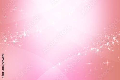 Obraz ピンク色のきらめく抽象的背景  - fototapety do salonu