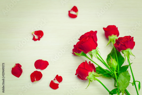 Aluminium Prints Image of Valentines day