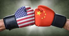 Boxkampf - USA Gegen China