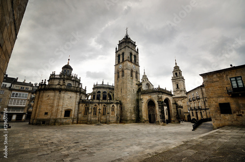 Saint Mary's Cathedral in Lugo, Spain.